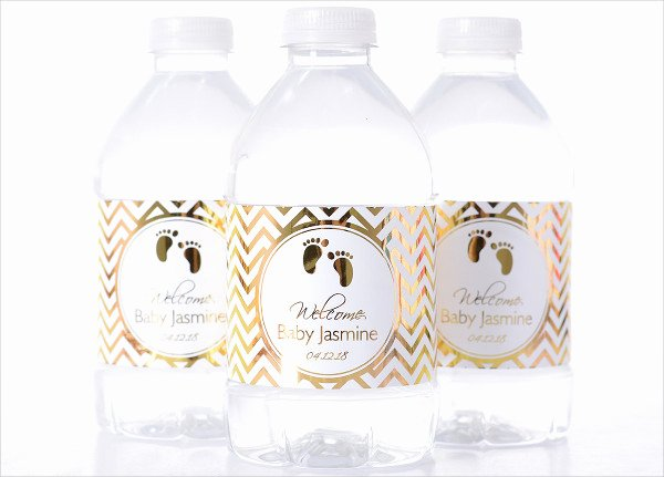 Water Bottle Template Free Inspirational Printable Baby Shower Water Bottle Labels Baby Shower
