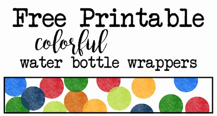 Water Bottle Template Free Luxury Baby Shower Archives Paper Trail Design