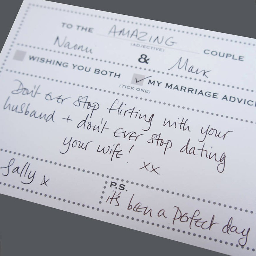 Wedding Advice Cards Funny Fresh 15 Amazing Wedding Guest Book Ideas