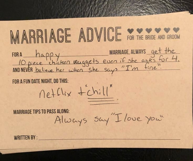 Wedding Advice Cards Funny Fresh Best 25 Funny Marriage Advice Ideas On Pinterest