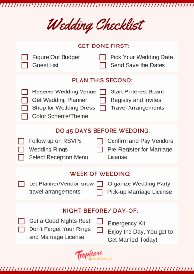 Wedding Day Checklist Printable Awesome Wedding Planning Checklist for A Stress Free Day