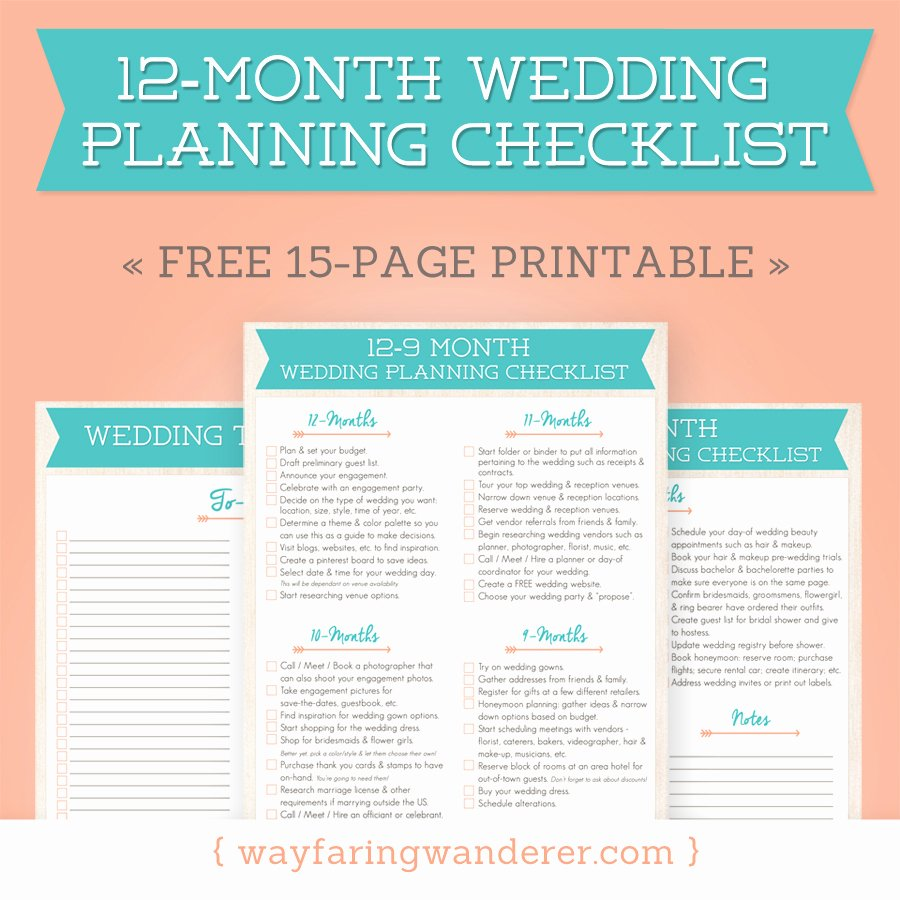 Wedding Day Timeline Printable Beautiful Wedding Planning Checklist