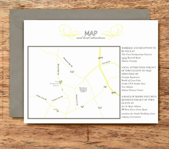 Wedding Direction Card Template Beautiful 25 Best Ideas About Wedding Direction Maps On Pinterest