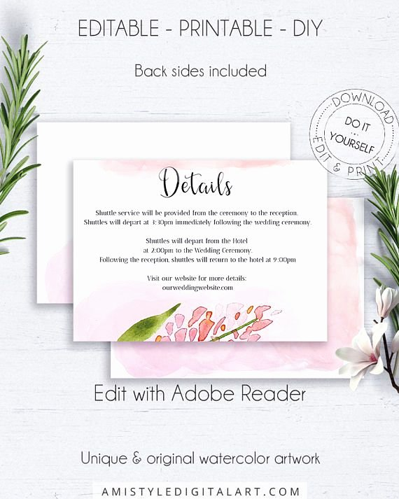 Wedding Direction Card Template Beautiful Best 25 Wedding Direction Cards Ideas On Pinterest