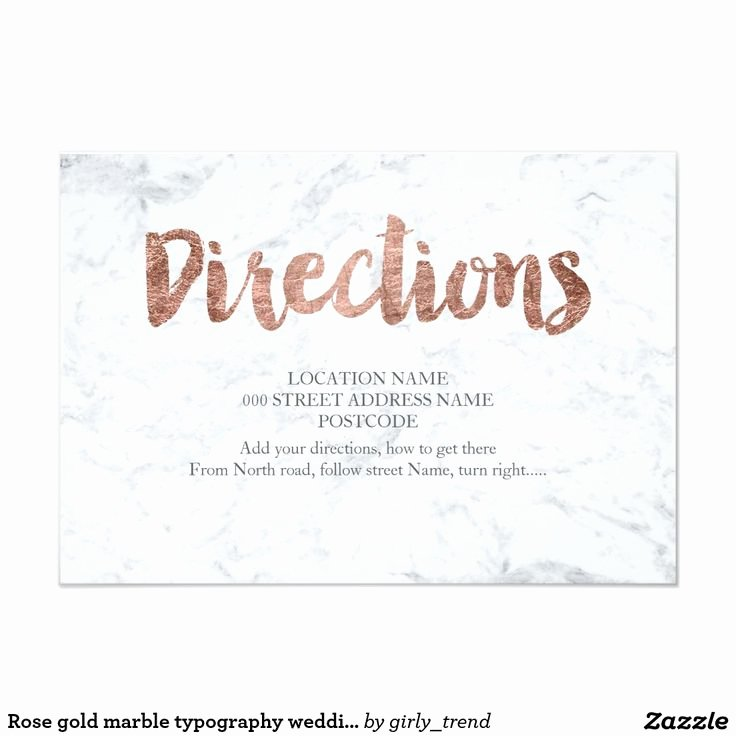 Wedding Direction Card Template Fresh Best 25 Wedding Direction Cards Ideas On Pinterest