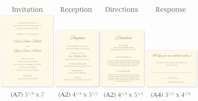 Wedding Direction Card Template Lovely Make Your Own Tissue Wrapped Wedding Invitation Ensemble