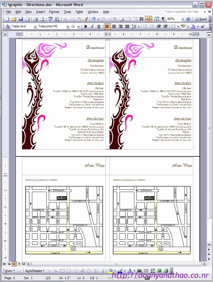 Wedding Direction Cards Template Best Of Diy