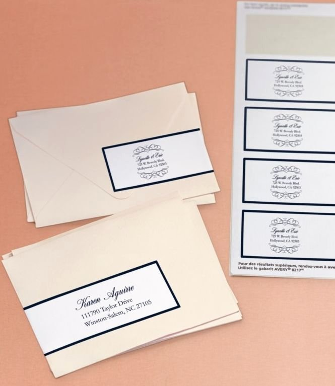 Wedding Envelope Address Template New Here S An Beautiful Way to Address Your Wedding