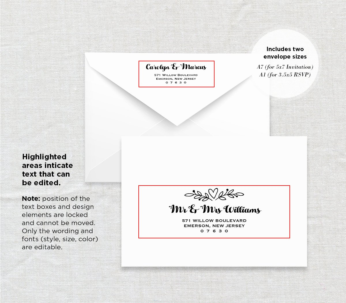 Wedding Envelope Address Template New Printable Envelope Template Wedding Address Template