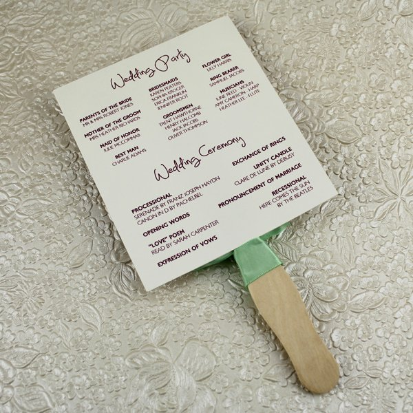 Wedding Fan Templates Free Beautiful Wedding Program Paddle Fan Template – Matelasse Design