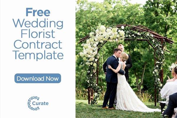 Wedding Flower Contract Template Beautiful [free] Florist Wedding Contract Template
