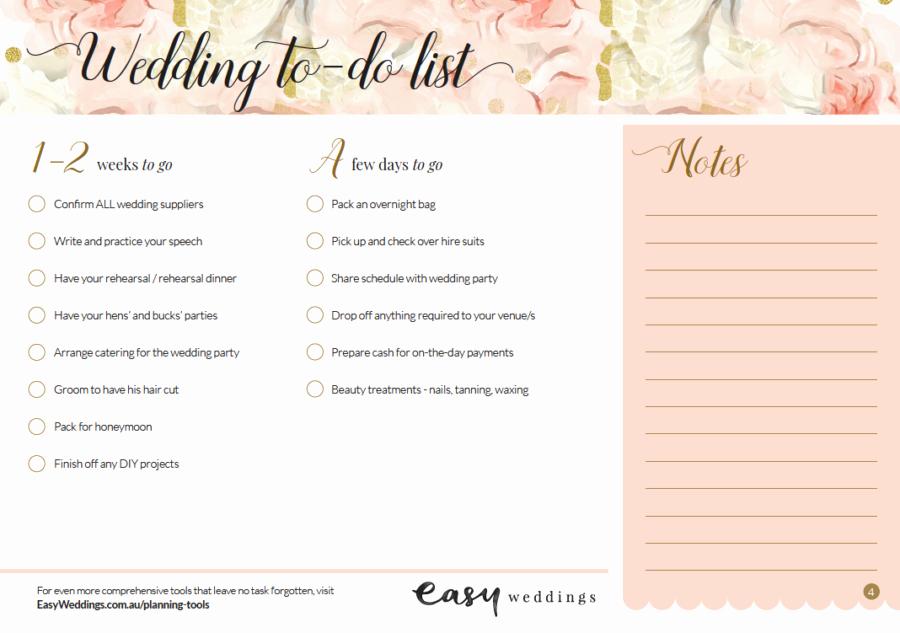 Wedding Planner Checklist Printable Lovely Get A Free Printable Wedding Planning Checklist Here
