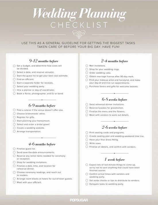 Wedding Planner Checklist Printable Unique the Importance Of Printable Wedding Planning Checklist