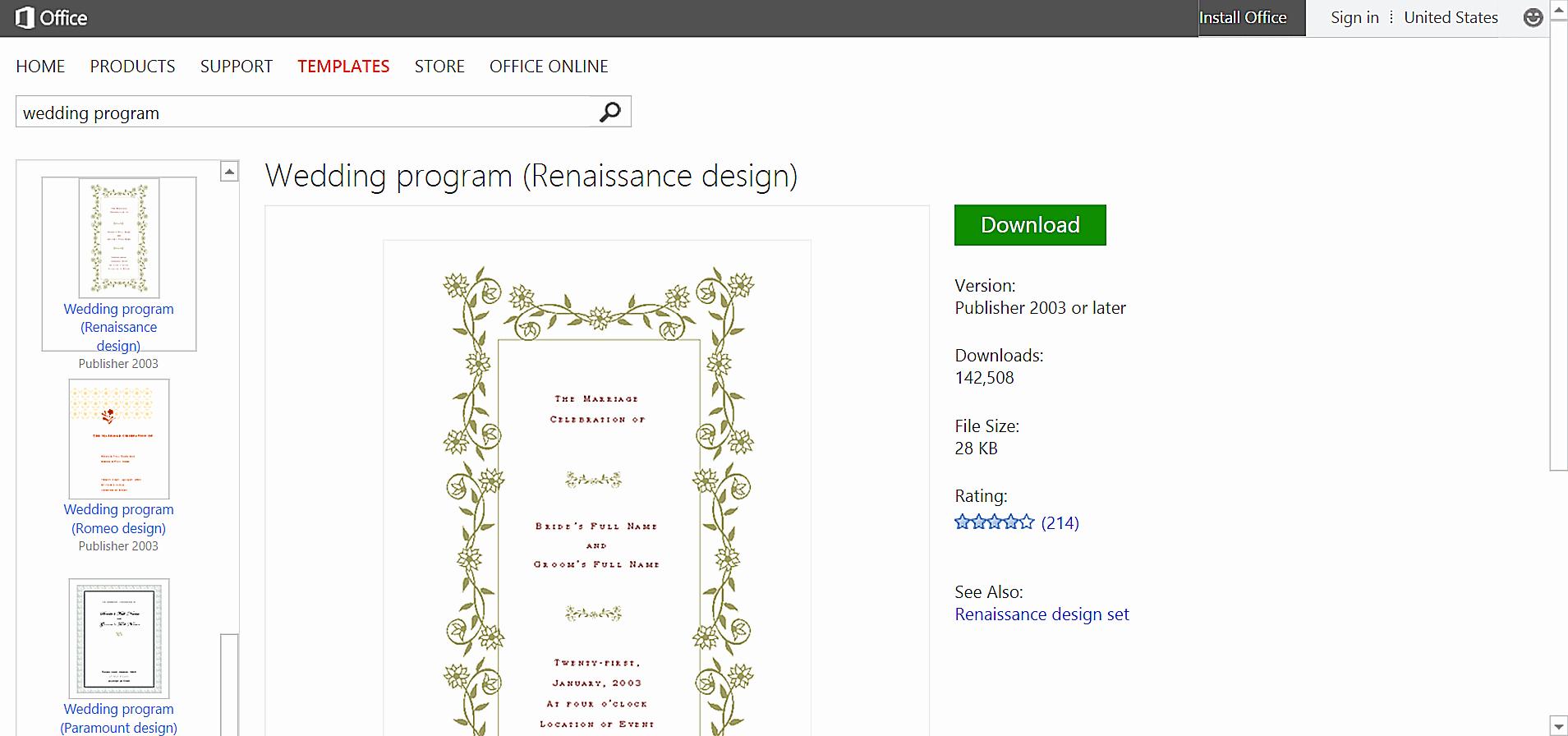 Wedding Program Templates Microsoft Word New Make Wedding Planning Easier Using Microsoft Fice