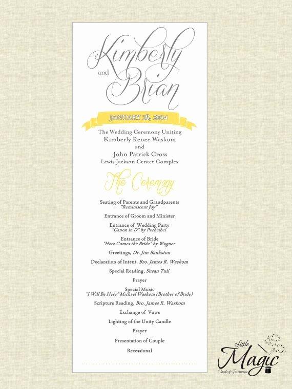 Wedding Reception Program Example Unique Best 25 Wedding Reception Program Ideas On Pinterest