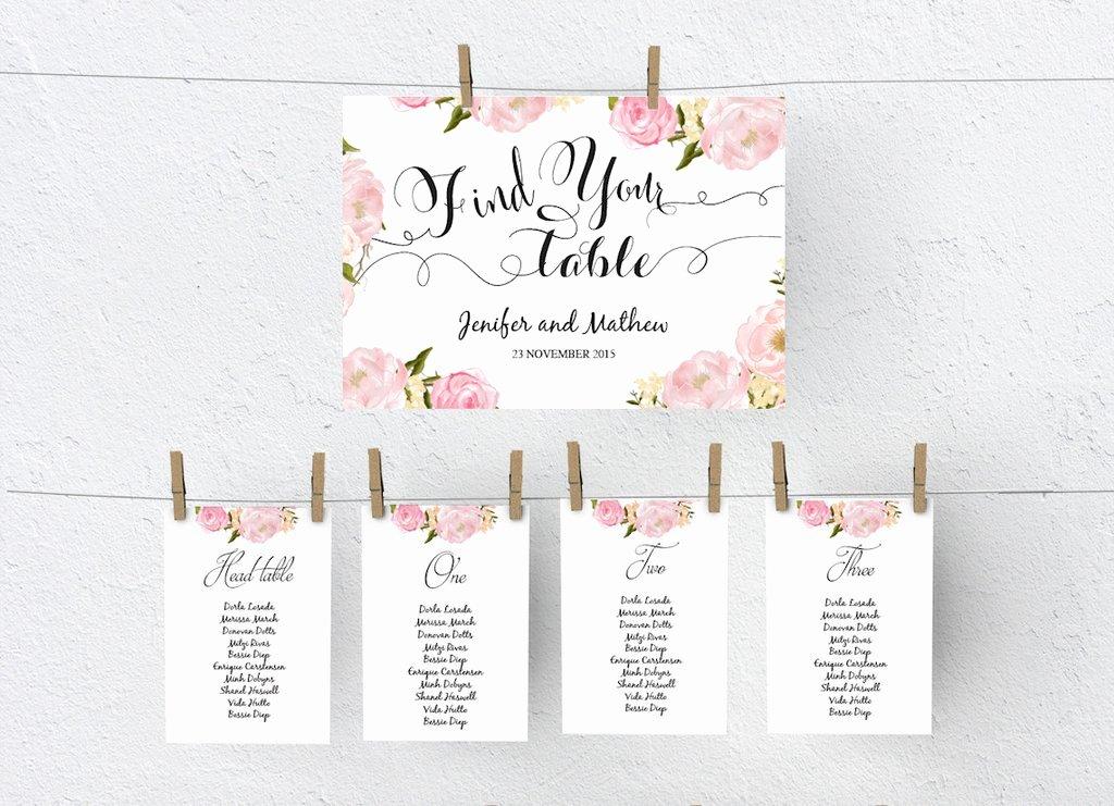 Wedding Seating Chart Template Word Awesome Wedding Seating Chart Diy
