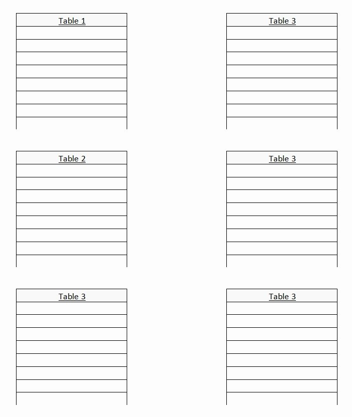 Wedding Seating Chart Template Word Best Of Wedding Seating Chart Template
