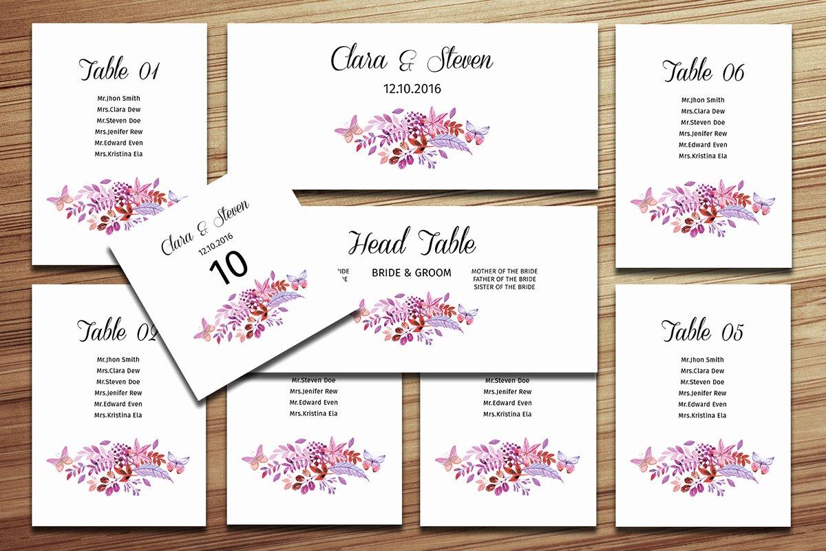 Wedding Seating Chart Template Word Luxury Wedding Seating Chart Template On Behance