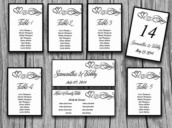 Wedding Seating Chart Template Word New Wedding Seating Chart Template Microsoft Word