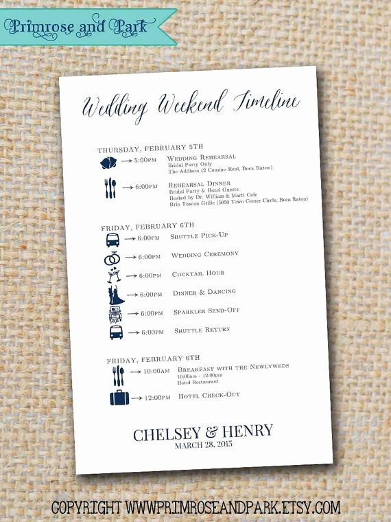 Wedding Welcome Bag Itinerary Template Luxury Best 25 Wedding Weekend Itinerary Ideas On Pinterest