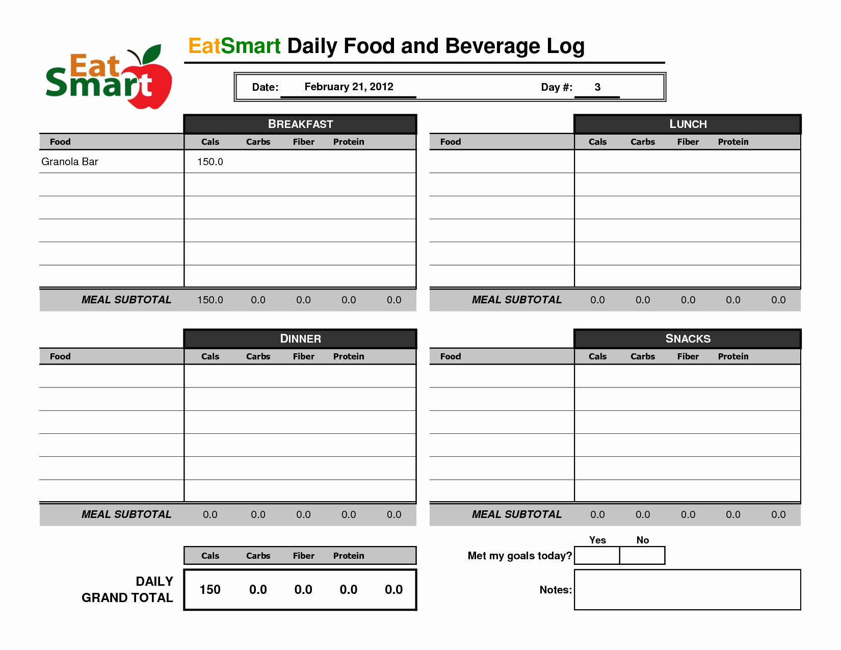 Weekly Food Diary Template Best Of Best S Of Weekly Food Log Excel Weekly Food Diary