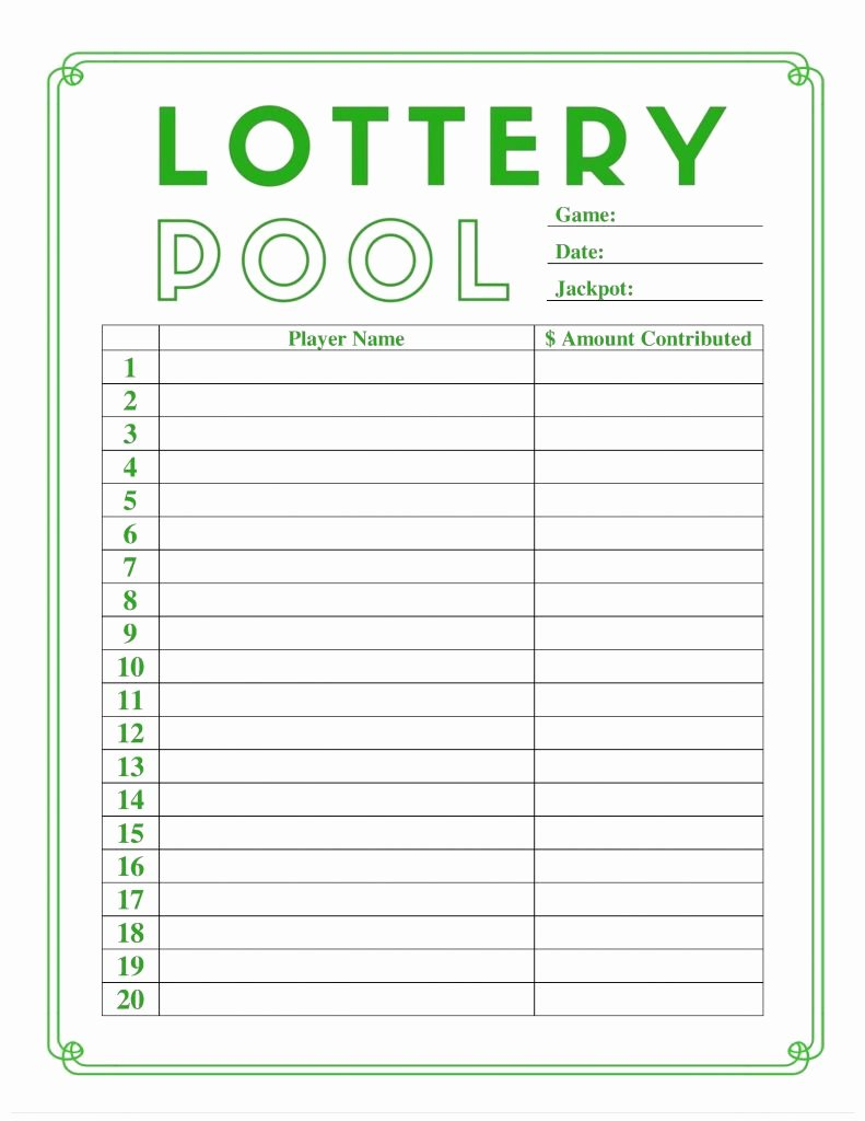 Weekly Football Pool Excel Spreadsheet Fresh Lottery Spreadsheet Template Inside Weekly Football Pool