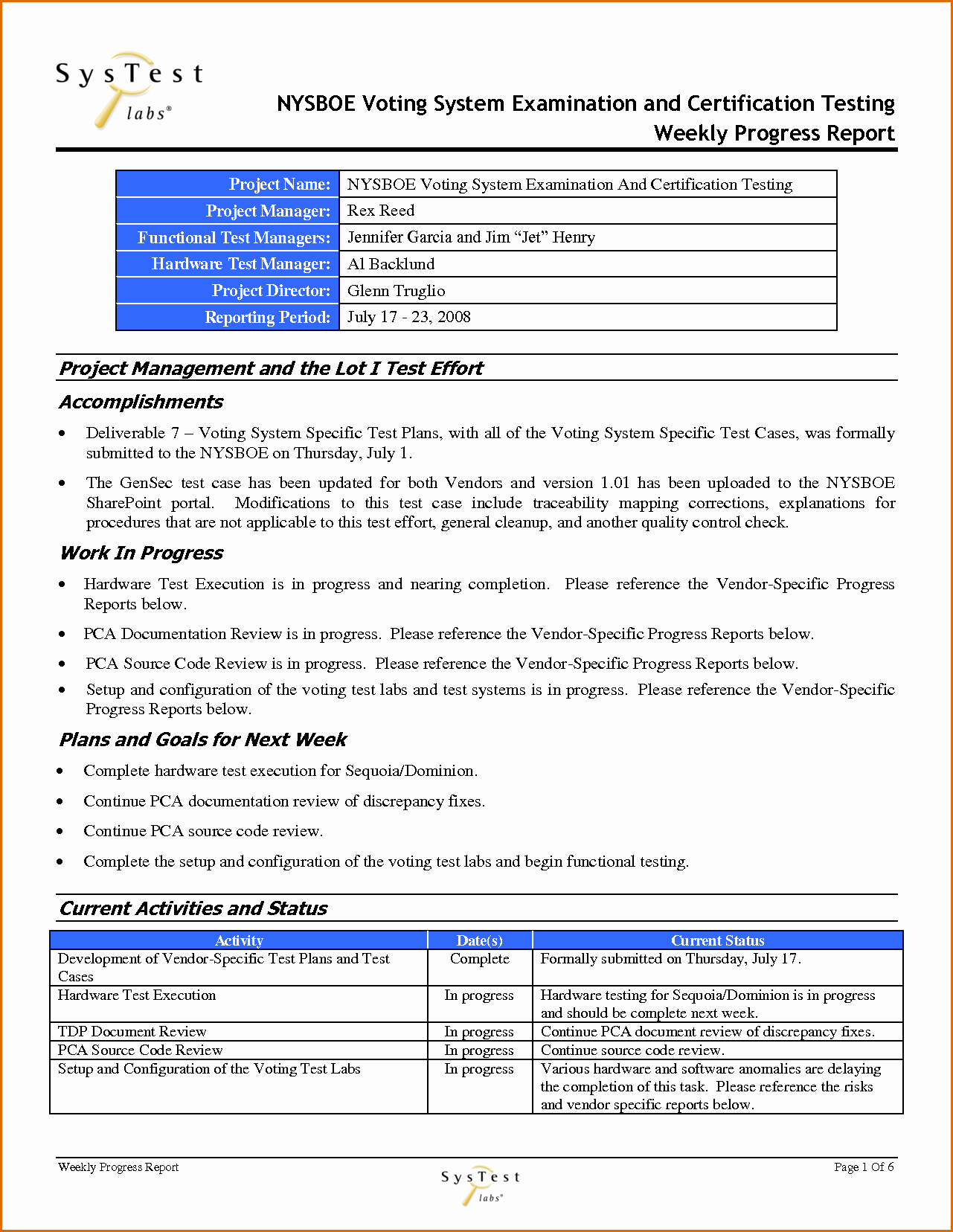 Weekly Progress Report Templates Inspirational 12 Weekly Progress Report Template