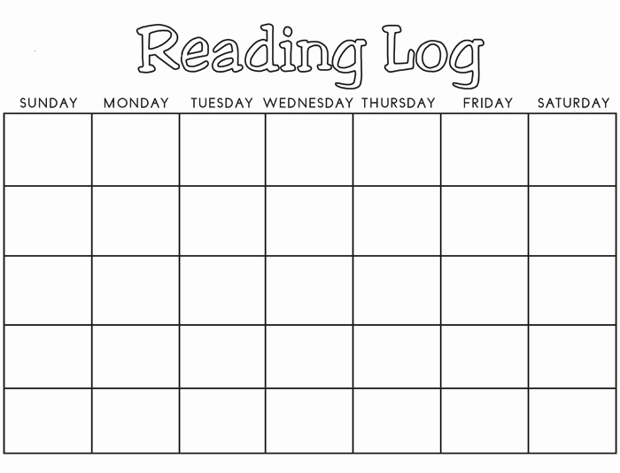 Weekly Reading Log Template Awesome 8 Reading Log Templates to Keep Your Reading Logs