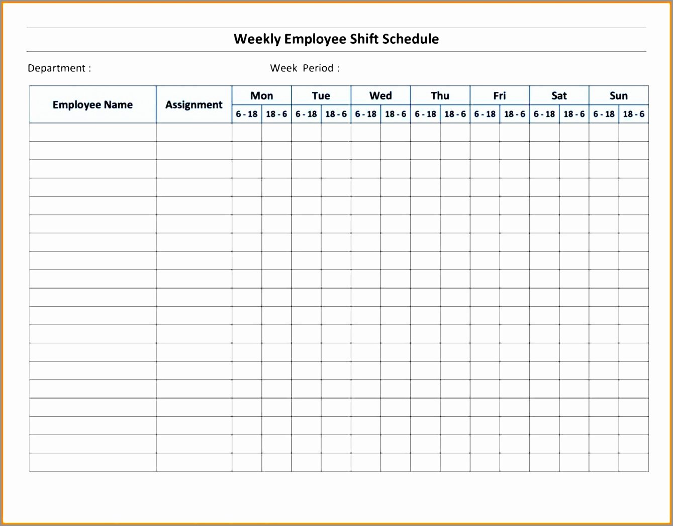 Weekly Sign In Sheet New 7 Weekly Sign In Sheet Template Arrti