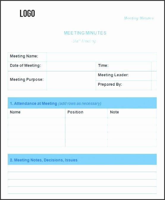 Weekly Staff Meeting Agenda Unique 8 Staff Meeting Minutes Template Sampletemplatess