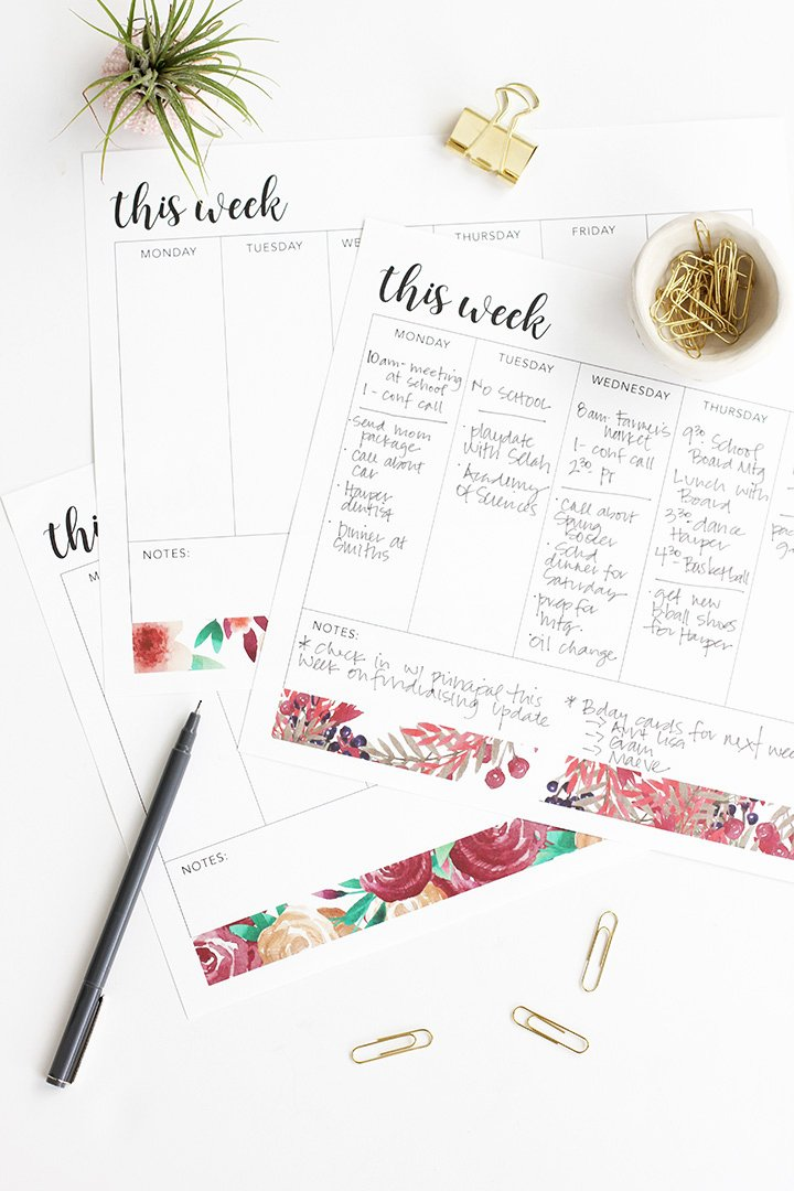 Weekly to Do List Printable Lovely Alice and Loisweekly to Do List Free Printable Alice and