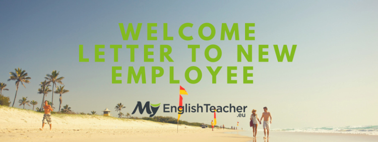 Welcome Letter to New Employee Best Of Wel E Letter to New Employee ›› Wel E Letter Sample