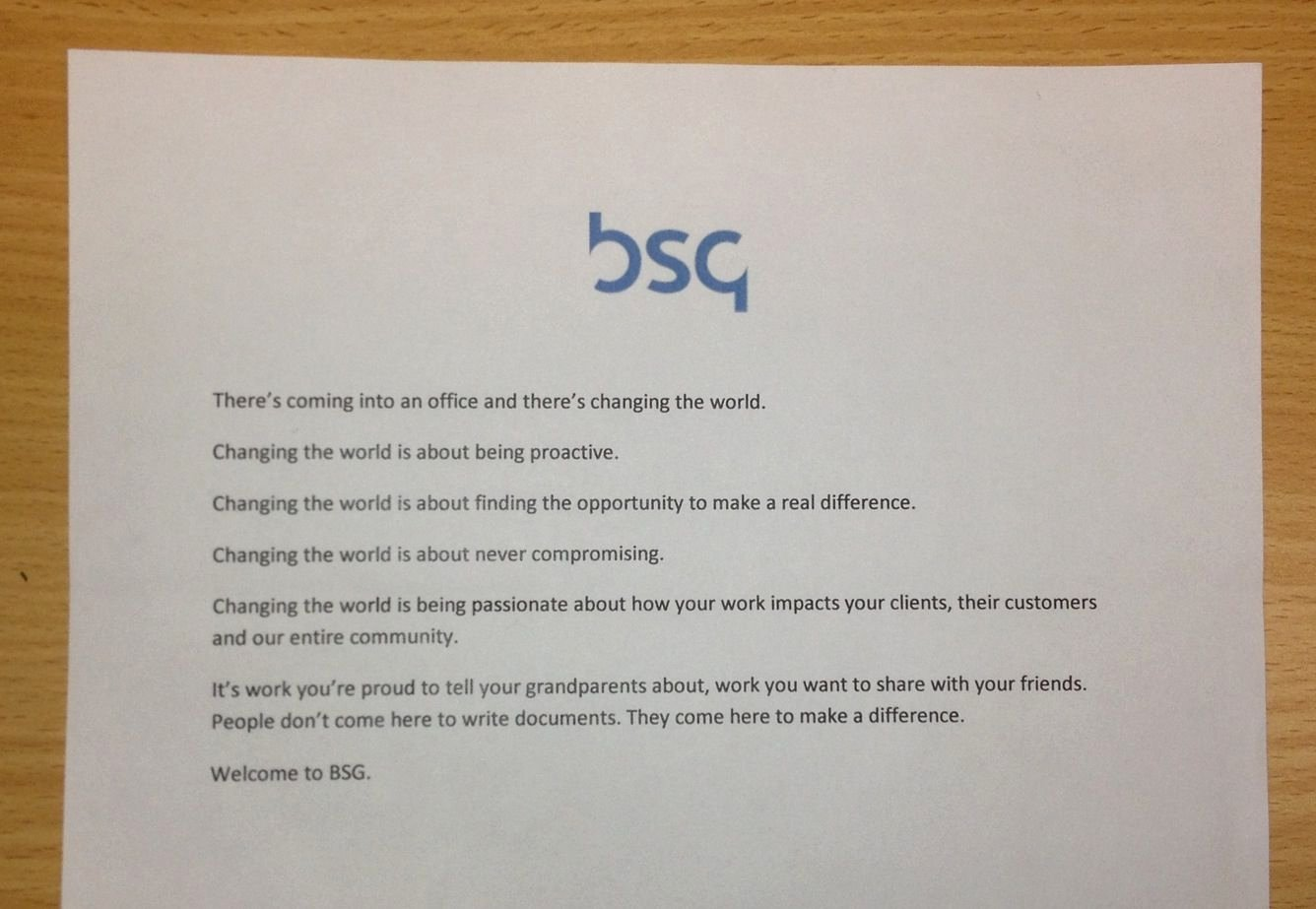Welcome Letter to New Employee Elegant Bsg New Emoployee Wel E Letter Inspired by Apple This