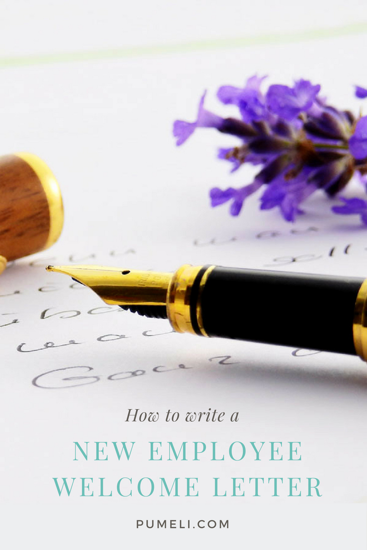 Welcome Letter to New Employee Elegant How to Write A Wel E Letter to New Employee Pumeli