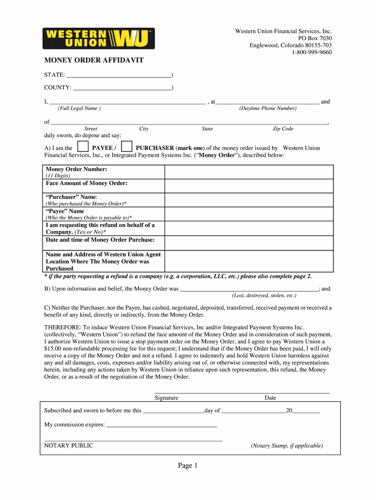 Western Union Money order Template New Wastan Union Pdf Rasipt Fill Line Printable Fillable
