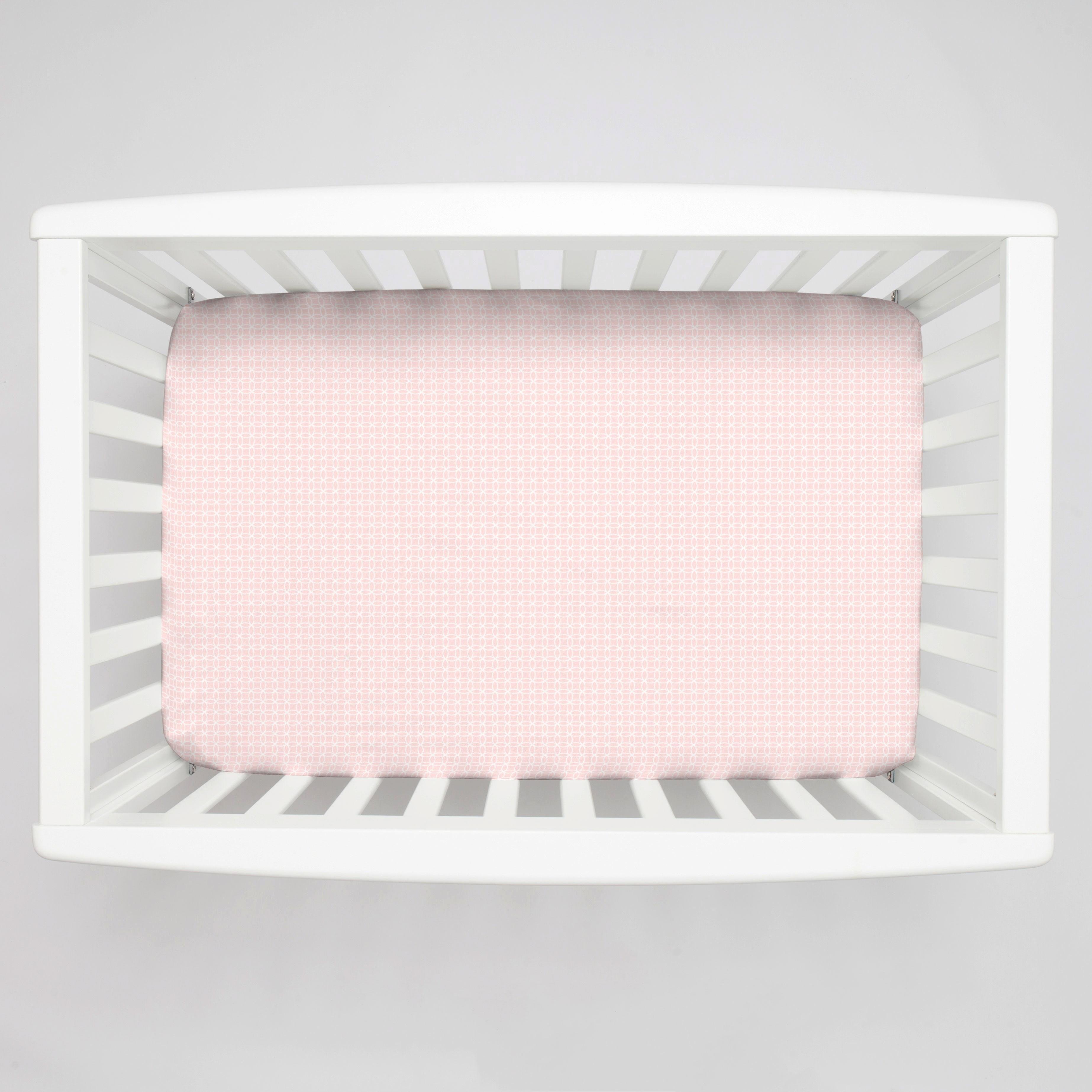 What is A Crib Sheet Awesome Pink Circles Mini Crib Sheet