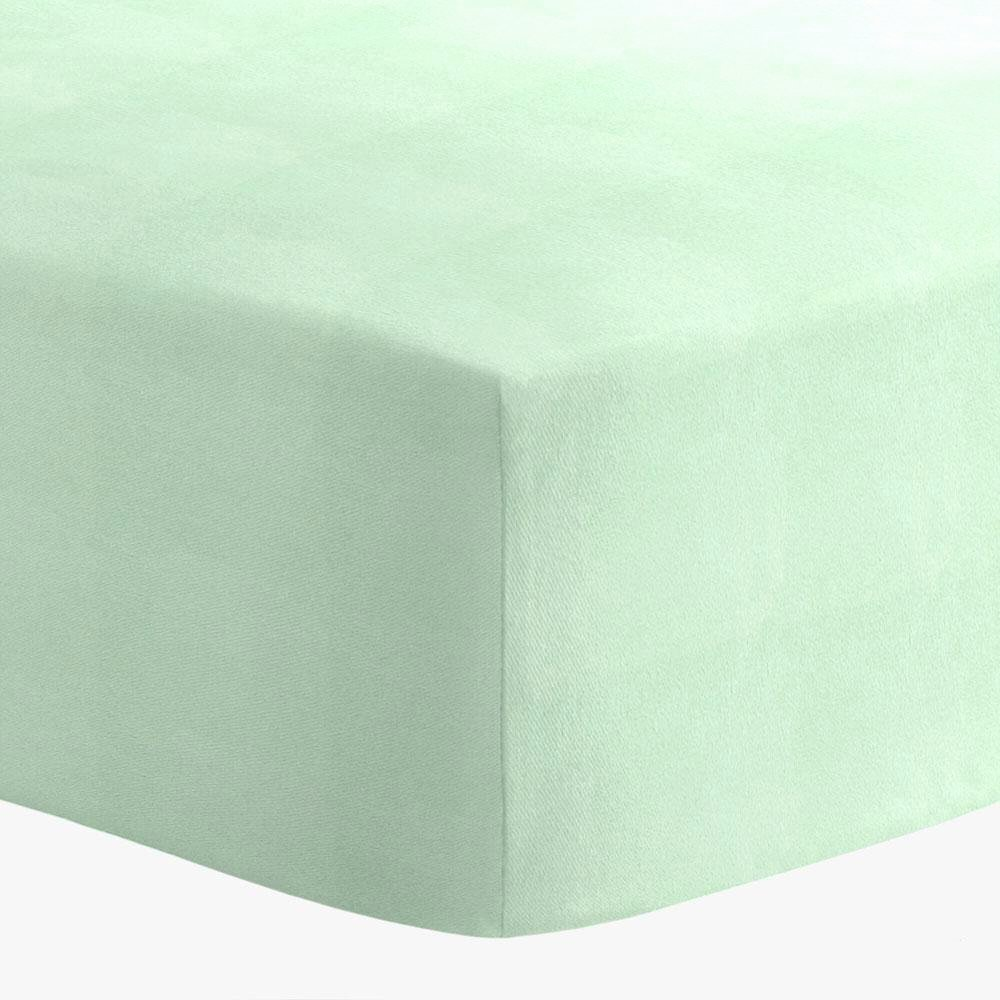 What is A Crib Sheet Awesome solid Mint Minky Crib Sheet