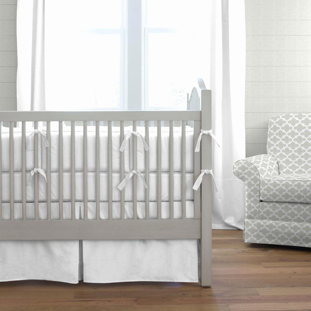 What is A Crib Sheet Awesome White Baby Bedding solid White Crib Bedding