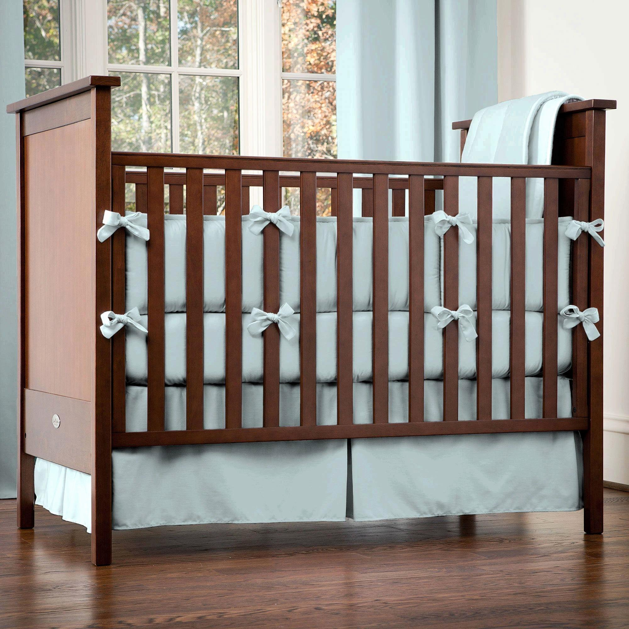 What is A Crib Sheet Best Of solid Robin S Egg Blue 3 Piece Crib Bedding Set