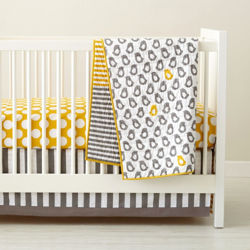 What is A Crib Sheet Elegant Baby Crib Bedding Baby Grey & Yellow Patterned Crib