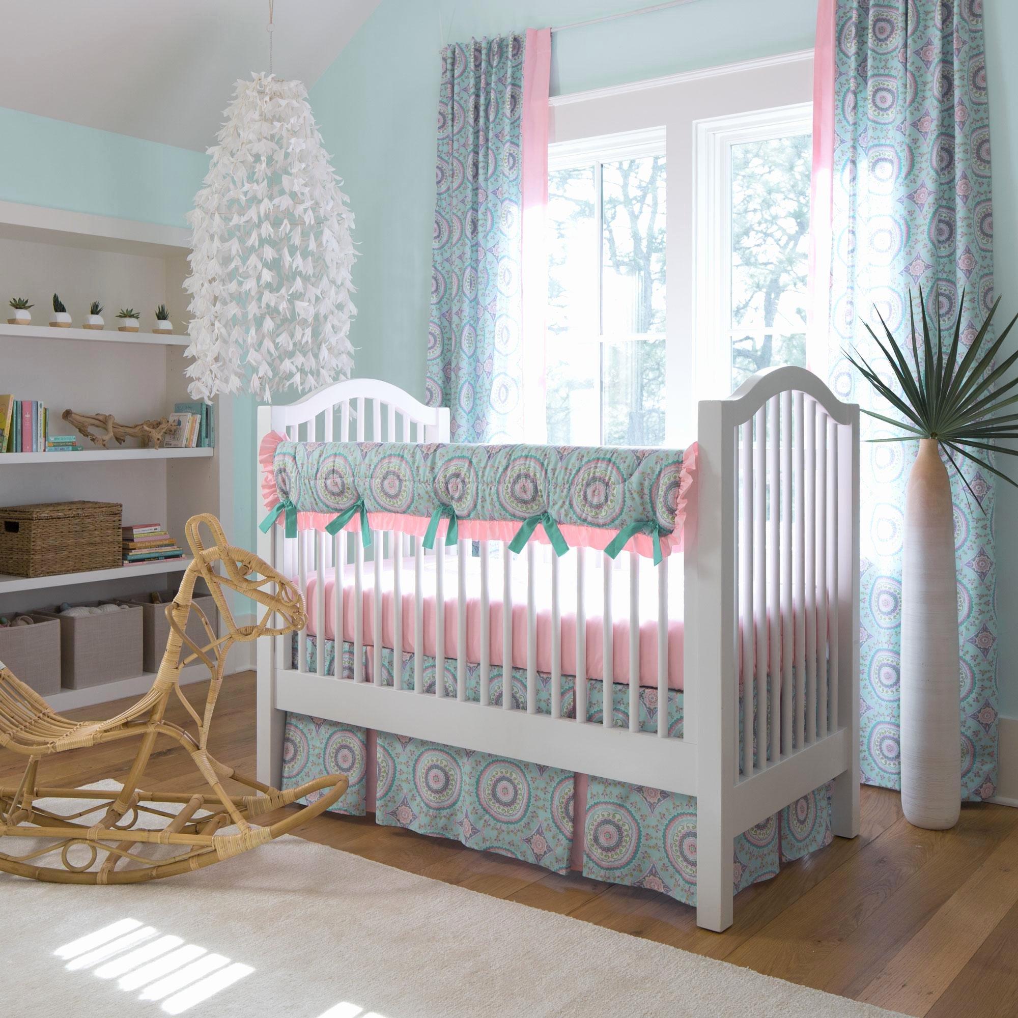 What is A Crib Sheet Fresh Aqua Haute Baby Crib Bedding