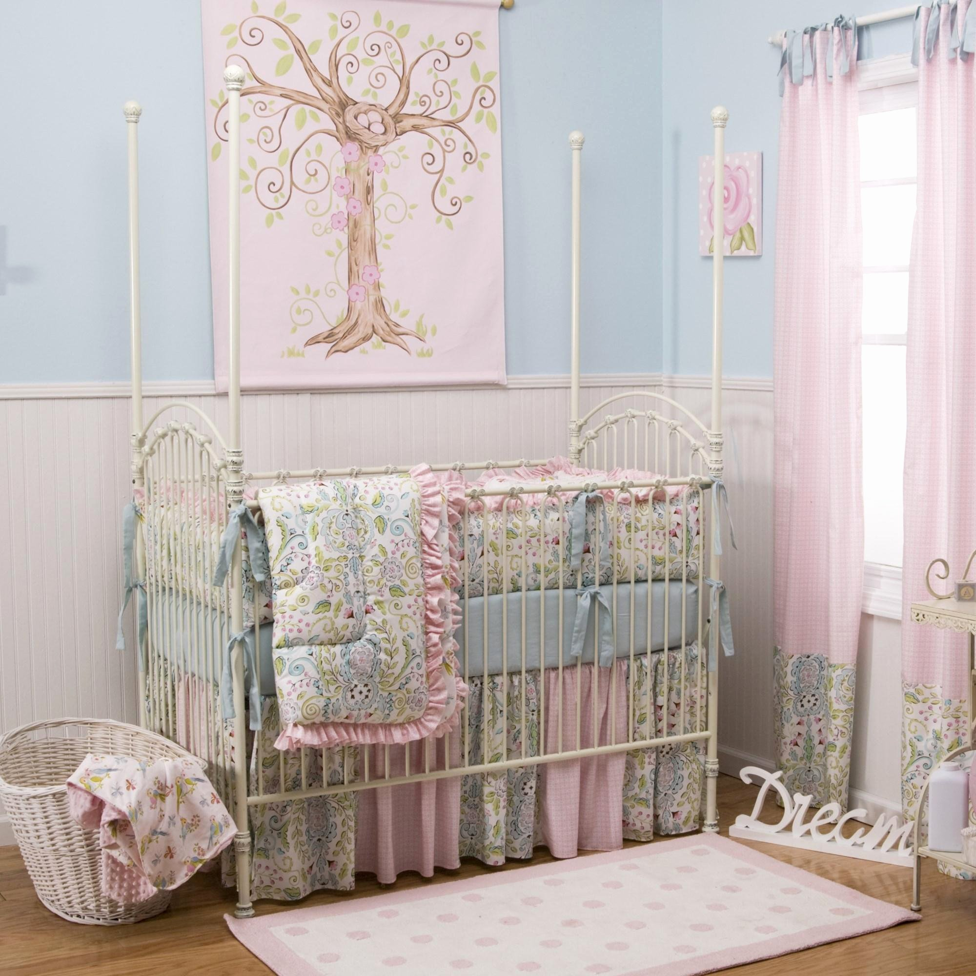 What is A Crib Sheet Fresh Love Birds Crib Bedding