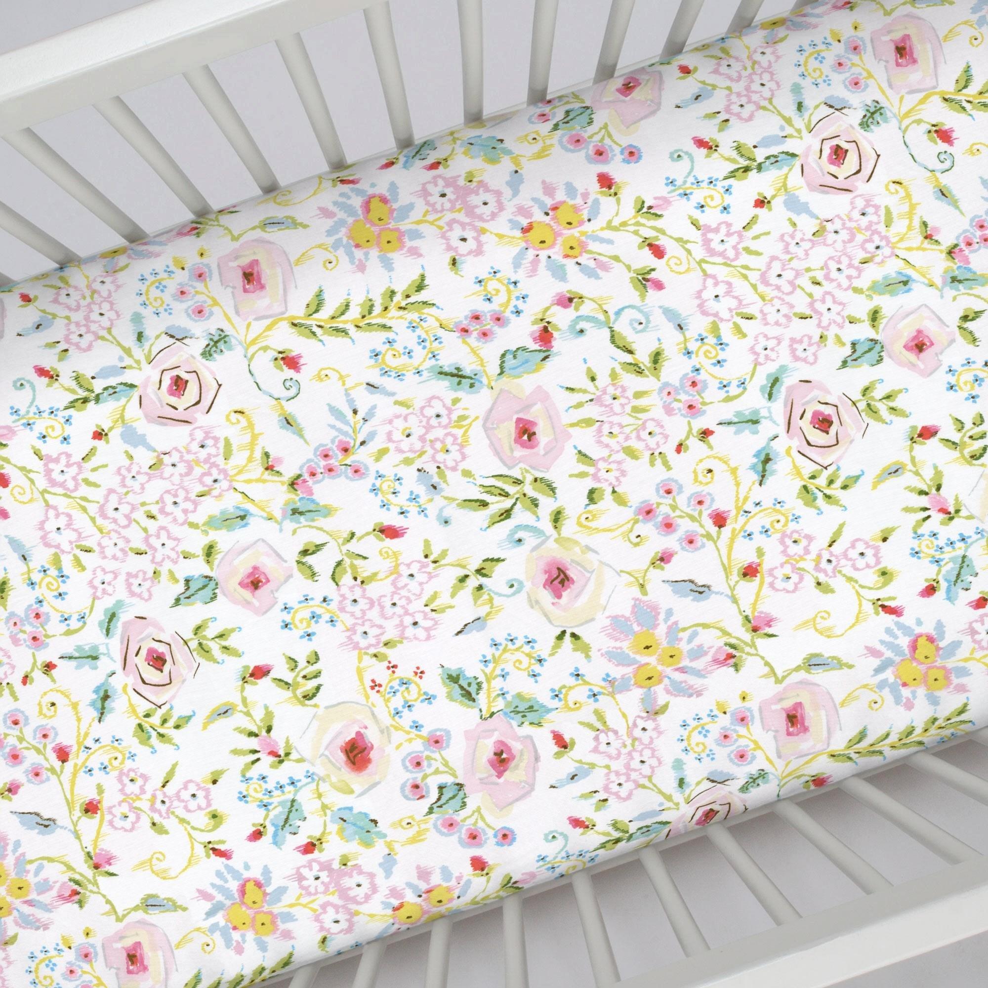 What is A Crib Sheet Inspirational Pink Primrose Crib Sheet