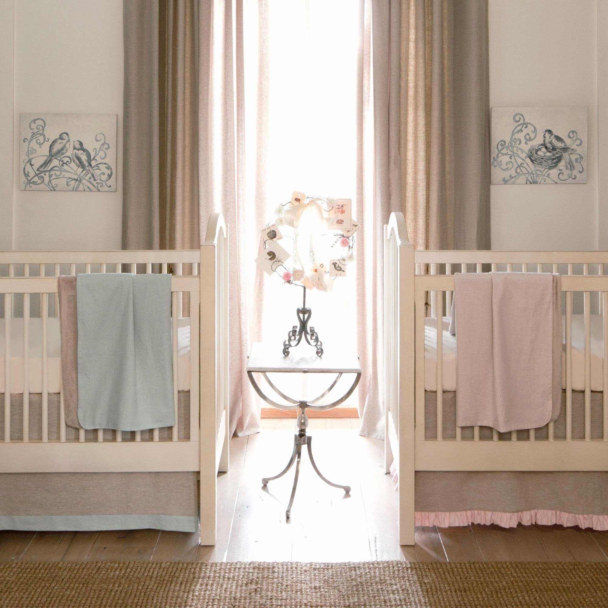 What is A Crib Sheet Lovely Light Pink Linen Crib Bedding