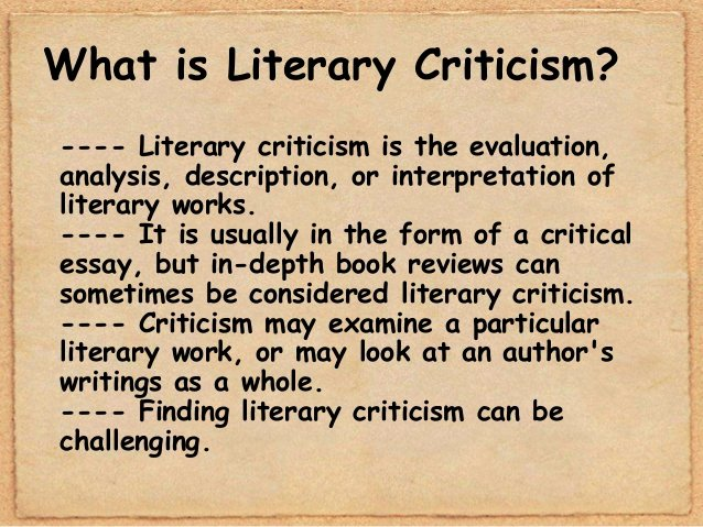 What is A Literary Essay Luxury Mythological and Archetypal Criticism