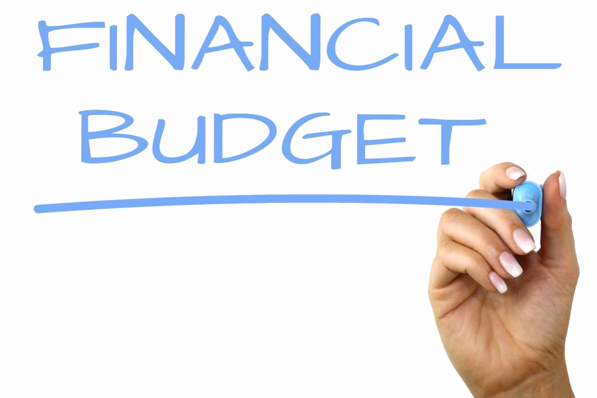 What is Financial Budget Fresh Financial Bud Handwriting Image