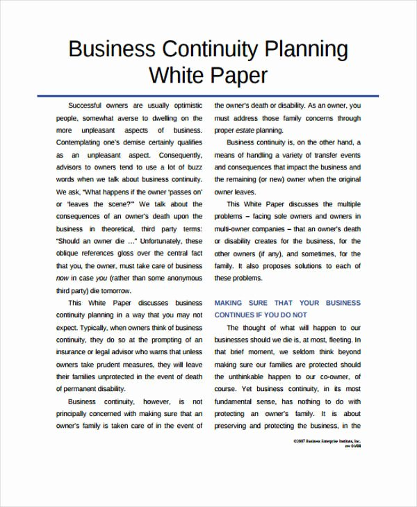 White Paper Examples Best Of 33 White Paper Templates In Pdf