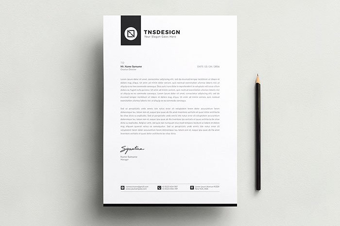 White Paper Template Indesign Awesome 50 Best Letterhead Design Templates 2018 Psd Word Pdf