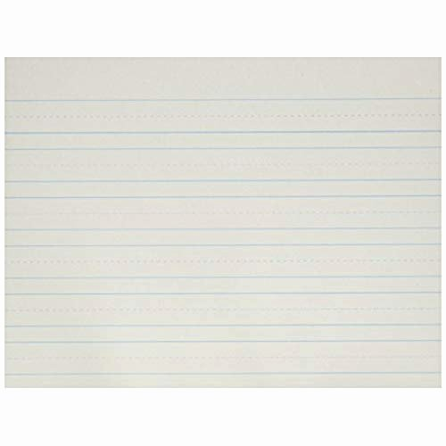Wide Lined Paper for Kindergarten Awesome Writing Paper Amazon