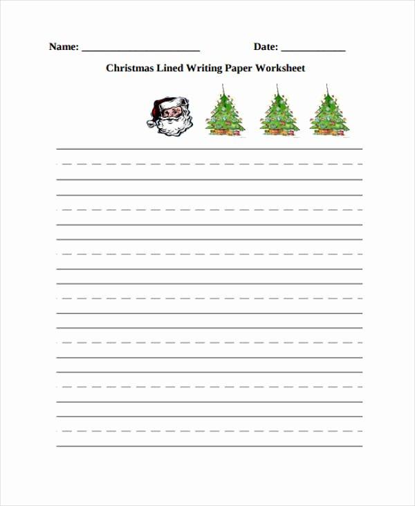 Wide Lined Paper for Kindergarten Elegant 25 Free Lined Paper Templates